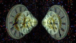 Illustration of Time Travel: Google Photos