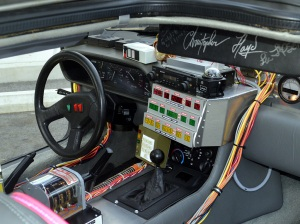 The computer laden car of the 1985 film