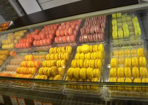 Macaron: A popular sweet meringue-based confection that traces its history to the VIII century in the Venetian monasteries