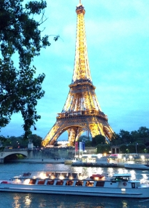 Eiffel Tower -- All Lit Up