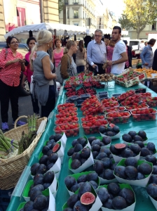 Farmer's market: usually all localities of Paris have one of these on certain days of the week